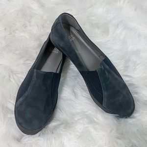 Eileen Fisher Dark Gray Chase Loafer Size 8.5